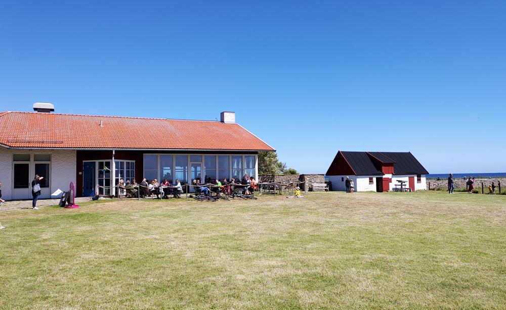 Foto av restaurang Fågel Blå och naturum Ottenby på Ölands södra udde